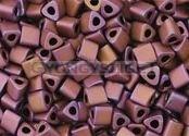 Toho háromszög gyöngy - 703 - matt bronz-lila irisz -11/0