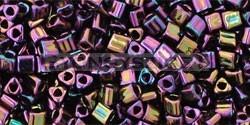 Toho háromszög gyöngy - 85 - Metallic Purple Iris - 11/0