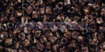 Toho háromszög gyöngy - y306 - hybrid világos beige  picasso -11/0
