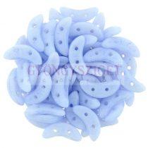 Crescent gyöngy - Kétlyukú félhold - Colortrend Airy Blue - 10mm