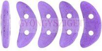Crescent gyöngy - Kétlyukú félhold - Colortrend Opaque Bodacious - 10mm