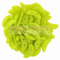 Crescent gyöngy - Kétlyukú félhold - Pacifica Honeydew - 10mm