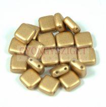 Tile gyöngy - Aztec Gold - 6x6mm