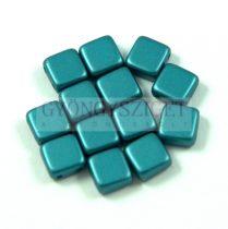 Tile gyöngy - pastel emerald - 6x6mm