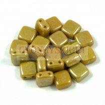Tile gyöngy -  Walnut Luster - 6x6mm