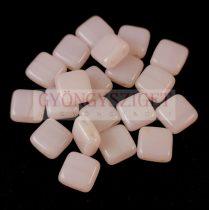 Tile gyöngy - Opal Pink - 6x6mm