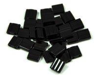 Miyuki tila gyöngy - 401 - telt fekete - 5mm - 10g-AKCIOS
