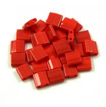 Miyuki tila gyöngy - 408 -  telt sötét piros -5mm