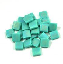Miyuki tila gyöngy - 412fr - Matte Rainbow Turquoize Green - 5x5mm