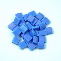 Miyuki tila gyöngy - 417lfr - Matte Opaque Light Blue AB - 5x5mm
