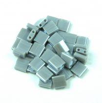 Miyuki tila gyöngy - 443 - Opaque Gray Luster - 5x5mm