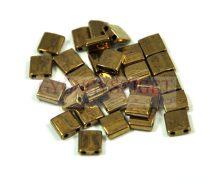 Miyuki tila gyöngy - 457 - bronz - 5x5mm - 10g-AKCIOS