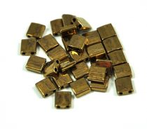Miyuki tila gyöngy - 457 - Bronz - 5x5mm