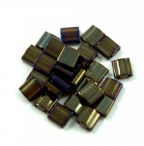Miyuki tila gyöngy - 458 - metál bronz írisz -5mm