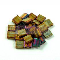 Miyuki tila gyöngy - 462 - arany írisz - 5mm