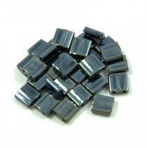 Miyuki ltila gyöngy - 464 - Hematite - 5mm