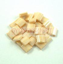 Miyuki tila gyöngy - 593 - ceylon karamell - 5x5mm - 10g-AKCIOS