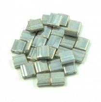 Miyuki tila gyöngy - 1865 - lüszteres szürke -5mm