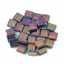 Miyuki tila gyöngy - 1898 - Purple Gray Rainbow Luster - 5mm - 10g - AKCIOS