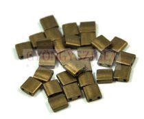 Miyuki tila gyöngy - 2006 - matt metál bronz -5mm - 10g