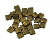 Miyuki tila gyöngy - 2006 - matt metál bronz -5mm