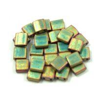 Miyuki tila gyöngy - 2035 - matt metál khaki írisz -5mm - 10g-AKCIOS