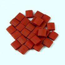 Miyuki tila gyöngy - 2040 - Matte Metallic Brick Red - 5mm - 10g - AKCIOS