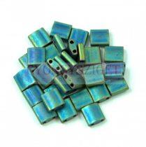 Miyuki tila gyöngy - 2064 - Matte Metallic Blue Green - 5mm - 10g - AKCIOS