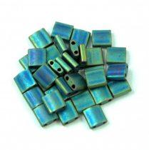 Miyuki tila gyöngy - 2064 - Matte Metallic Blue Green - 5mm