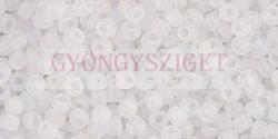 Toho kásagyöngy - 161f - matt szivárvány kristály - 11/0
