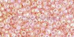 Toho kásagyöngy - 169 - szivárvány rózsaszín - 11/0