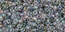 Toho kásagyöngy - 266 - szürke közepű arany lüszteres kristály - 11/0