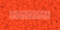 Toho kásagyöngy - 50f - telt matt sötét narancs - 11/0