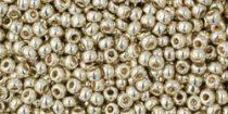 Toho kásagyöngy - pf558 - PermaFinish - Galvanized Aluminum - 11/0