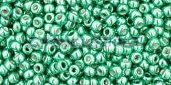 Toho kásagyöngy - pf561 - PermaFinish - Galvanized Green Teal - 11/0