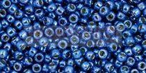 Toho kásagyöngy - pf586 - Galvanizált Denim Blue Tartós Bevonattal - 11/0