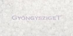 Toho kásagyöngy - 161f - matt szivárvány kristály - 15/0