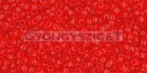 Toho kásagyöngy - 5b - áttetsző siam rubin