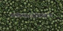 Toho kásagyöngy - 940 - transzparens sötét oliva - 15/0
