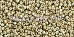 Toho kásagyöngy - pf558 - PermaFinish -  Galvanized Silver - 15/0