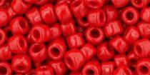 Toho kásagyöngy - 45 - Opaque Red Pepper - 6/0
