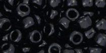 Toho kásagyöngy - 49 - Opaque Black - 6/0