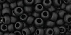 Toho kásagyöngy - 49f - matt fekete - 6/0
