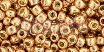 Toho kásagyöngy - pf551 - PermaFinish - Galvanized Rose Gold - 6/0