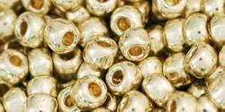 Toho kásagyöngy - pf558 - PermaFinish - Galvanized Aluminum - 6/0