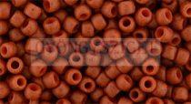 Toho kásagyöngy - 2611f - semi - glazed orange - 8/0
