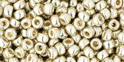 Toho kásagyöngy - 558pf - PermaFinish - Galvanized Silver - 8/0