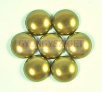 Tekla üveg kaboson - Khaki Golden Shine - 14mm