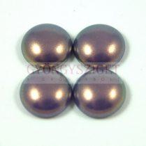 Tekla üveg kaboson - purple golden shine - 16mm