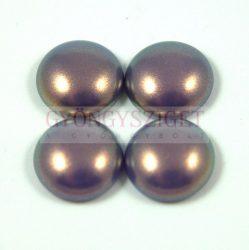 Tekla üveg kaboson - purple golden shine - 20mm